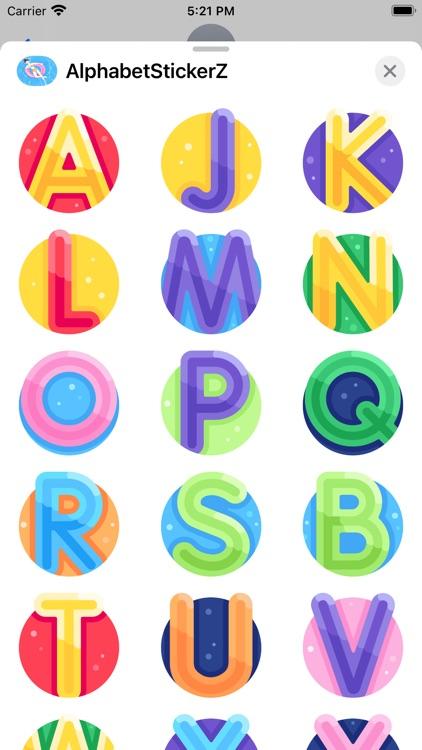 AlphabetSticker