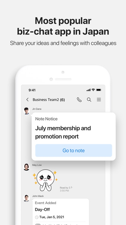 LINE WORKS - Business Chat App