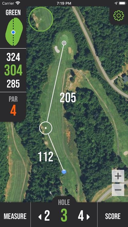 nRange Golf GPS screenshot-3