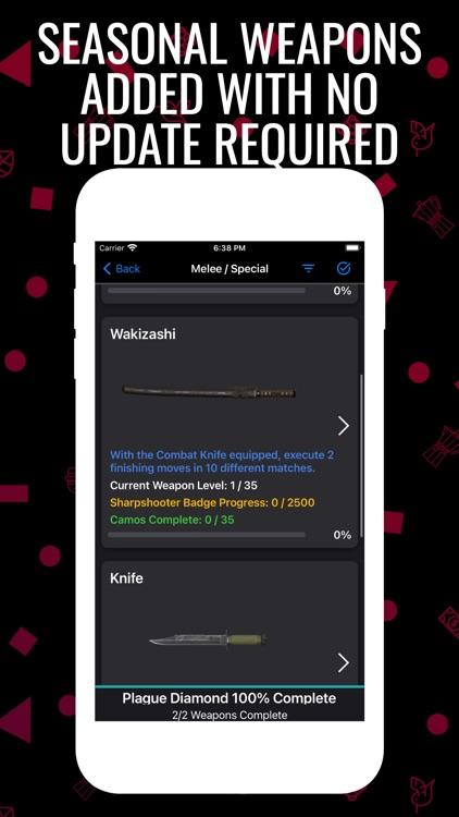 Cold War Camo Tracker screenshot-5