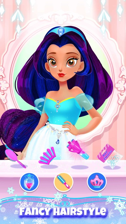 Princess Hair Salon Girl Games screenshot-0