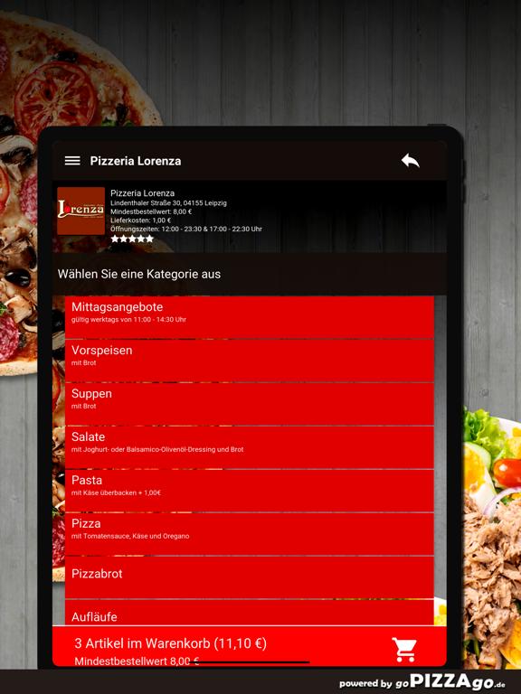 Pizzeria Lorenza Leipzig screenshot 8
