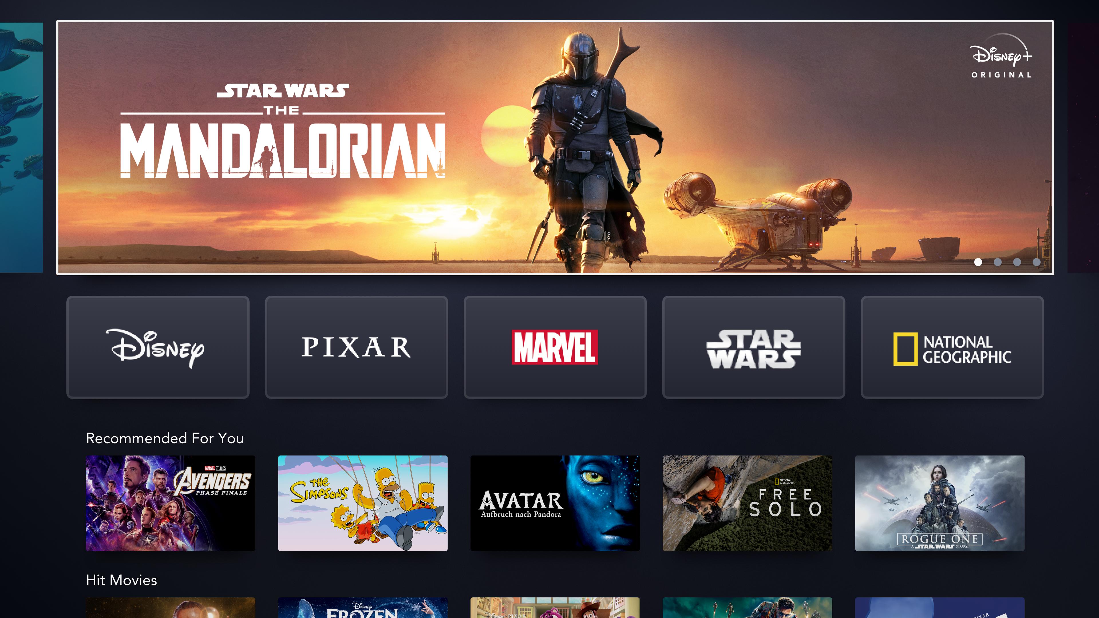 Disney+ screenshot 13