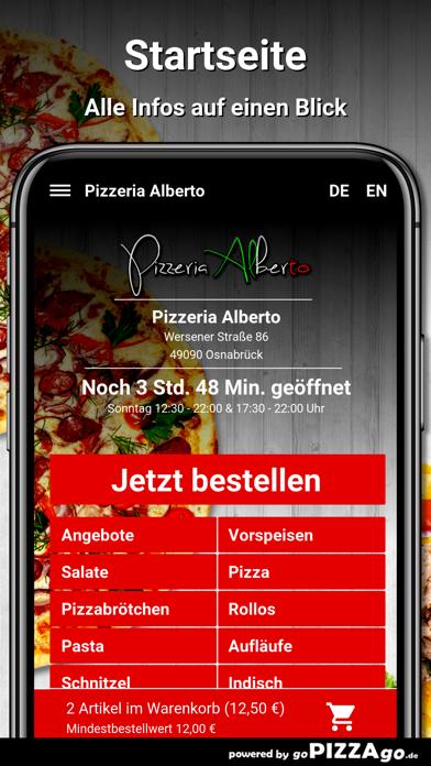 Pizzeria Alberto Osnabrück screenshot 3