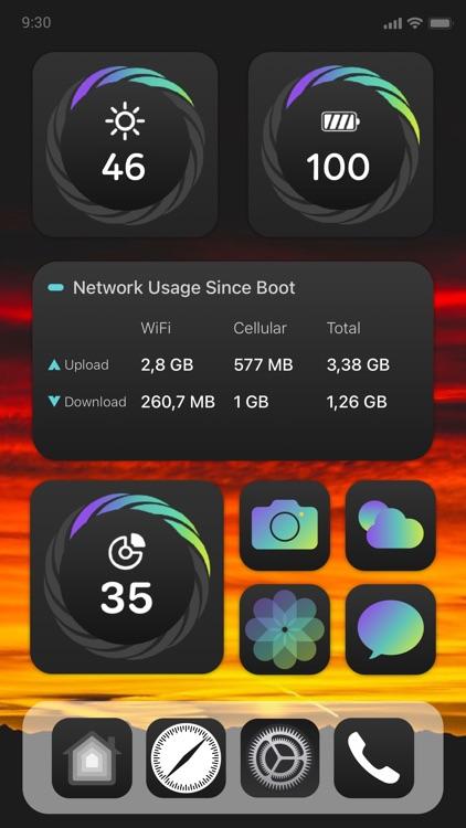 Battery Widget & Color Widget screenshot-4