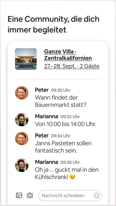 messages.download Airbnb software
