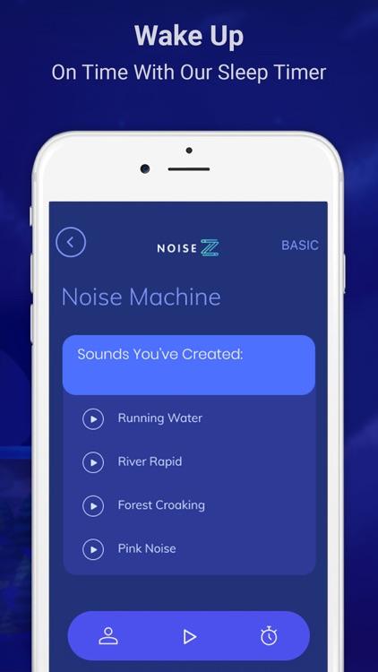 NoiseZ: Soothing Sleep Sounds screenshot-5