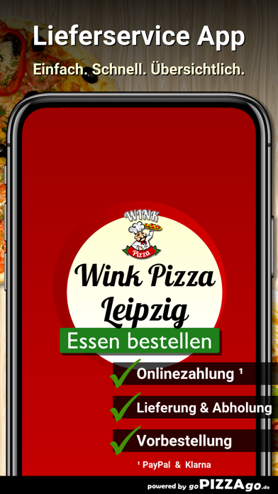 Wink Pizza Leipzig screenshot 1