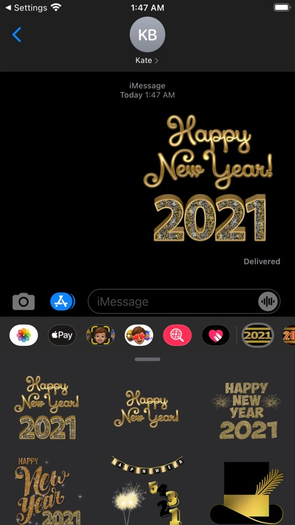 2021 Happy New Year Stickers screenshot-3