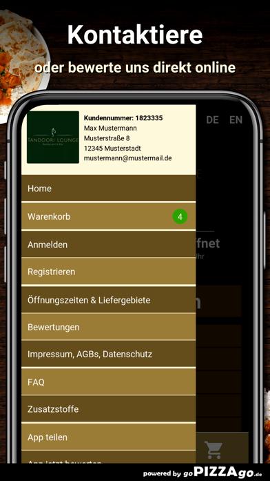 Tandoori Lounge Kelsterbach screenshot 3