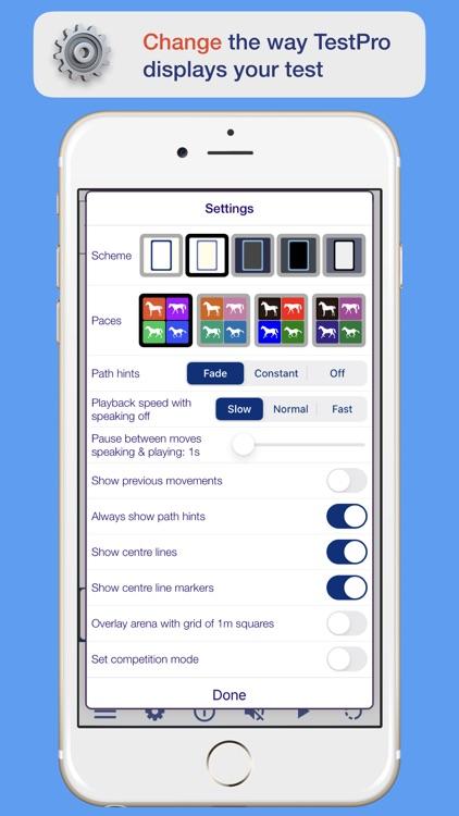 TestPro Dressage Test Sampler screenshot-3