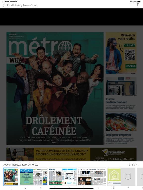 cloudLibrary NewsStand screenshot 10