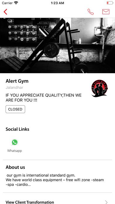 Alert Gym screenshot 3