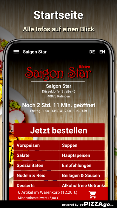 Saigon Star Ratingen screenshot 2