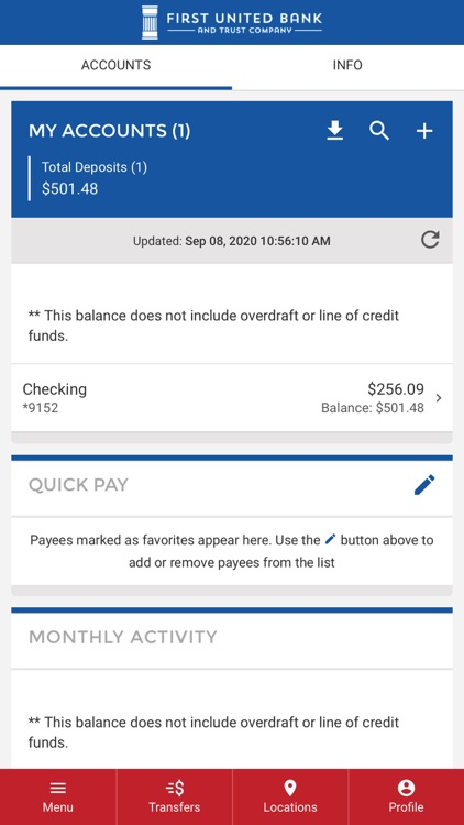First United Mobile Banking screenshot-3