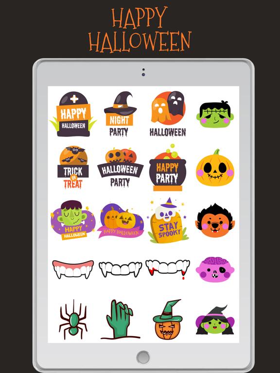 Halloween Stickers!!! screenshot 10