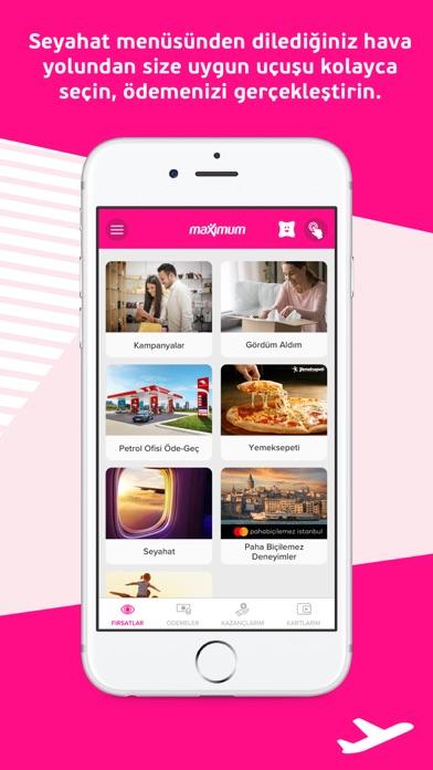 Maximum Mobil iphone ekran görüntüleri
