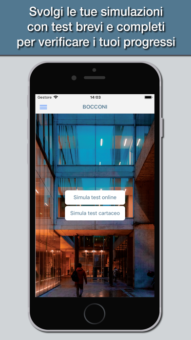 Screenshot of Hoepli Test Bocconi1