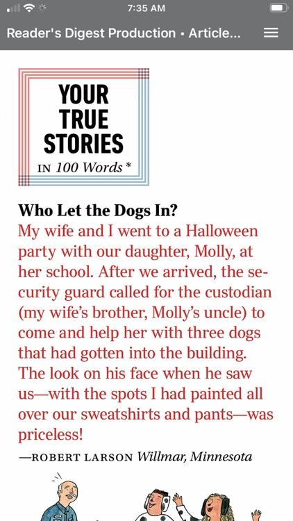 Reader's Digest screenshot-4