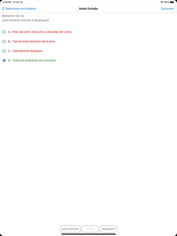 Preparate PPA Examen DGAC CL screenshot 8