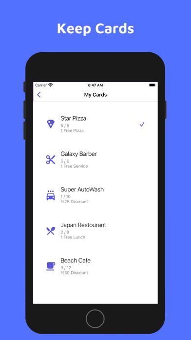 WinStamp - بطاقة ولاءلقطة شاشة2