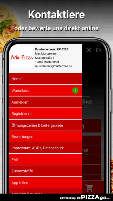 Mr. Pizza Plauen screenshot 3
