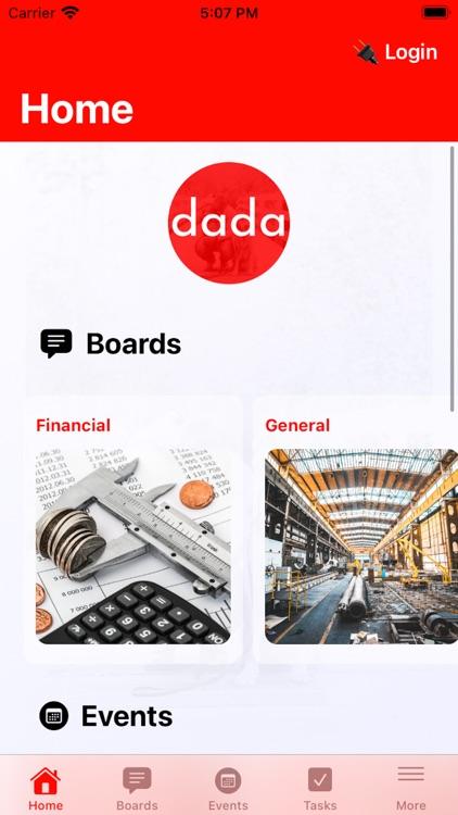 dadaCommunityApp screenshot-3