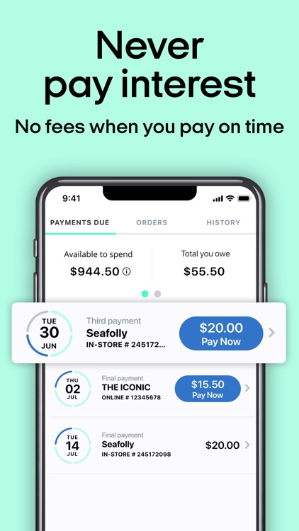 Afterpay: Shop now. Pay later. screenshot-4