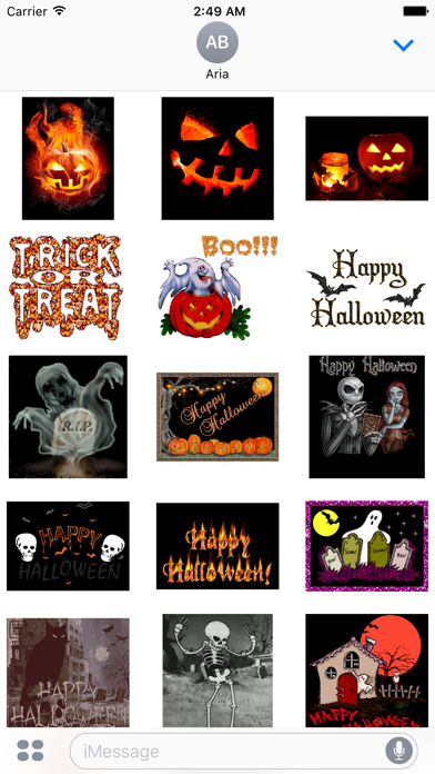 Happy Halloween Animated Gifs screenshot 2