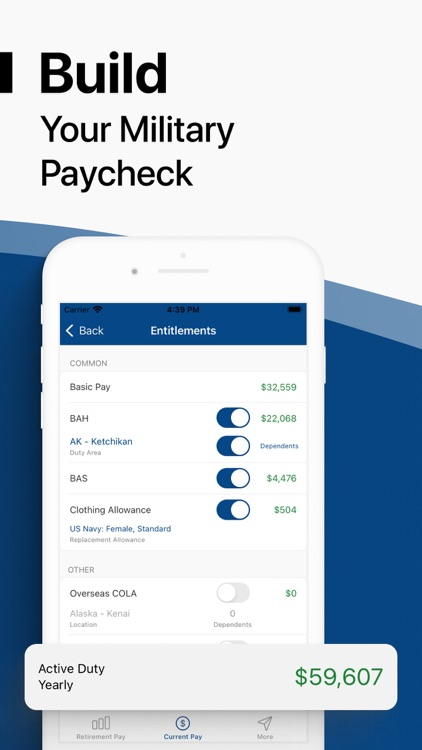 Military Money: Pay & Pension screenshot-2