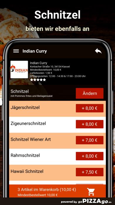 Indian Curry Kassel screenshot 6