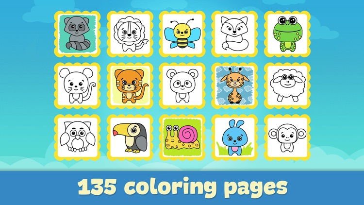Baby coloring book for kids 2+ screenshot-4