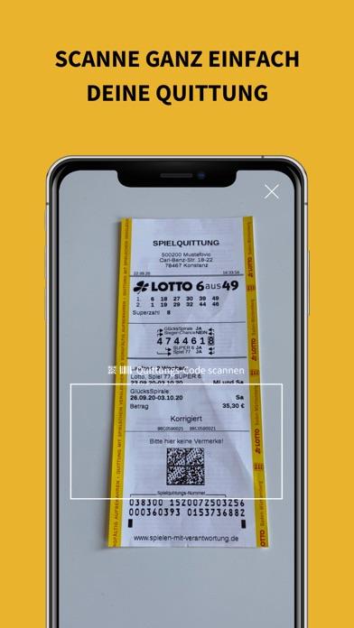 Lotto Scanner für LottoscheineScreenshot von 4