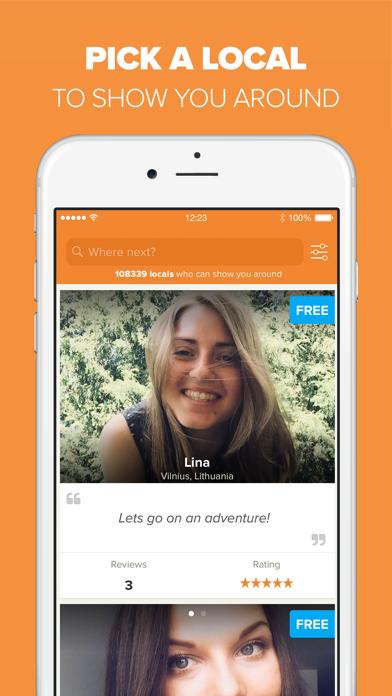 Showaround - Find a Local Screenshot