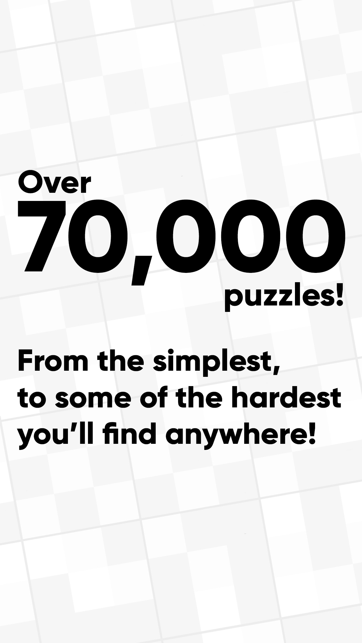 Screenshot do app Good Sudoku by Zach Gage