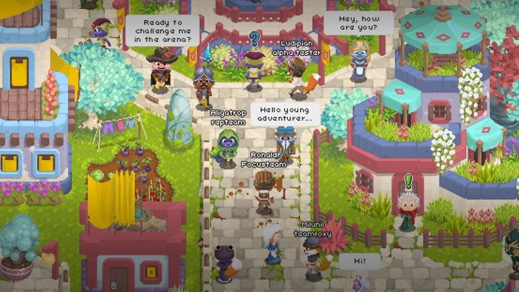 Naica Online - MMORPG 2D screenshot-4