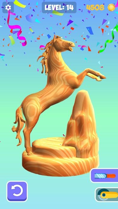 Idle Wood Carving 3D screenshot 3