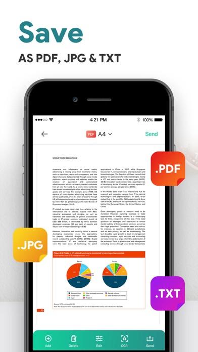 ScannerLens Pro  PDF scannerScreenshot von 4