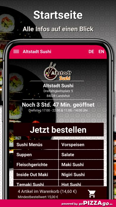 Altstadt Sushi Landshut screenshot 2