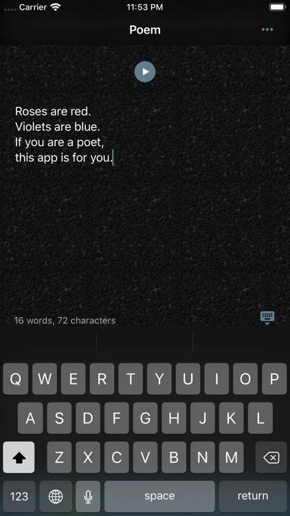 Poet Assistant screenshot-6