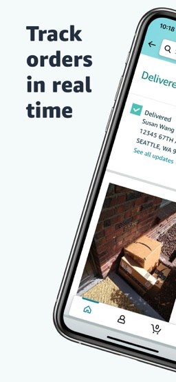 Amazon Shopping app screenshot