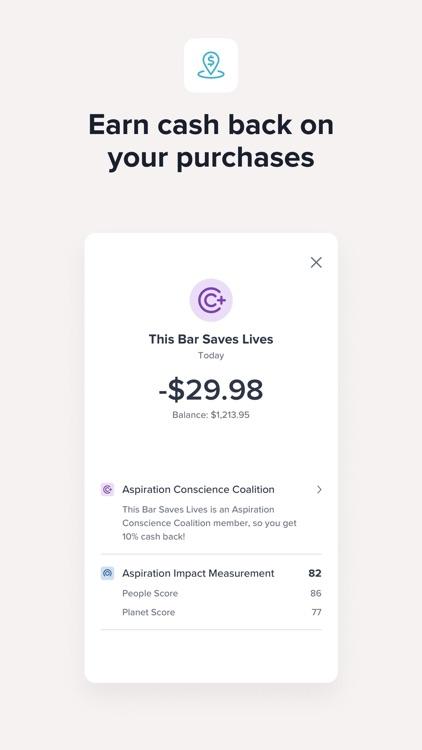 Aspiration Spend, Save, Invest screenshot-3