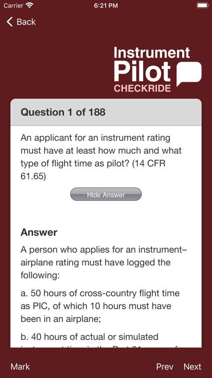 Instrument Pilot Checkride screenshot-3