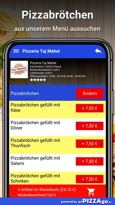 Pizzeria Taj Mahal Plauen screenshot 5
