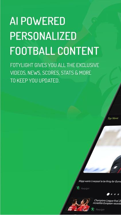 Footylight- Soccer Highlights screenshot-0