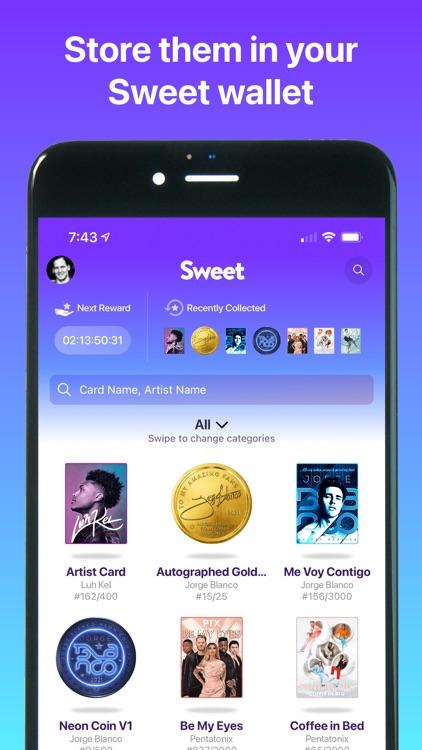 Sweet - Digital Collectibles screenshot-3