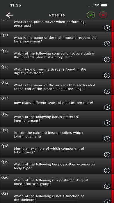 Level 2 Exercise & Fitness Q&A screenshot 4