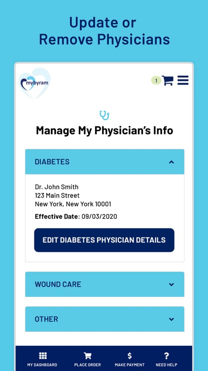 mybyram Order Medical Supplies screenshot-6