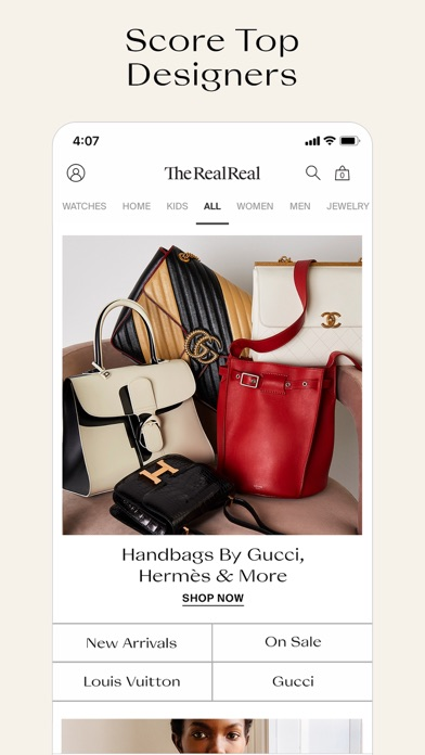 The RealReal - Buy+Sell Luxury wiki review and how to guide