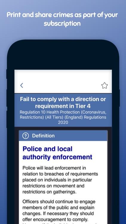 Pocket Sergeant - Police Guide screenshot-9